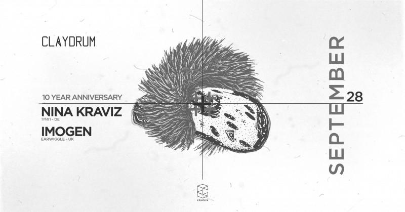Claydrum / 10 Year Anniversary / Nina Kraviz
