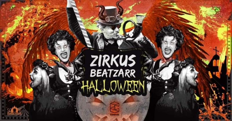 Zirkus Beatzarr // Halloween show // SOLD OUT